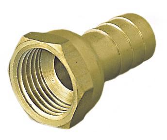 """V&G Mosazný hadičník 3/4"""" x 20mm - Vnitřní závit, PN20 (6820) 68203420"""