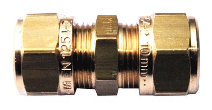 Mosazná svěrná spojka 15 mm x 15 mm 1N0000H151500G