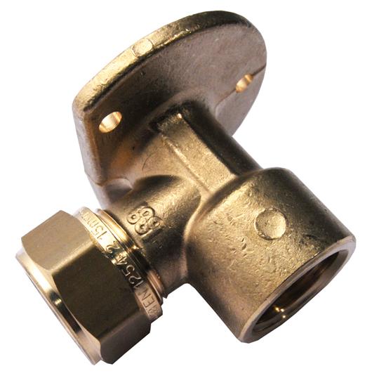 """Mosazná svěrná nástěnka - vnitřní závit 3/4"""" x 15 mm 1N0023H051500K"""