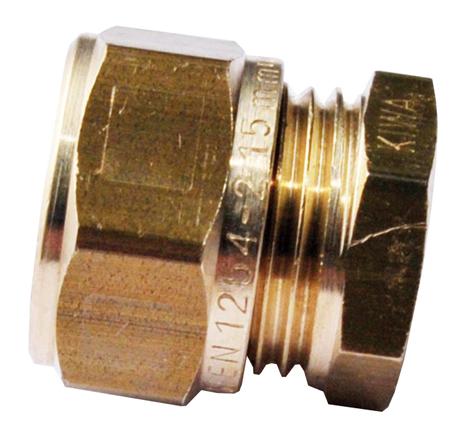 Mosazná svěrná zátka 15 mm 1N0040H150000G