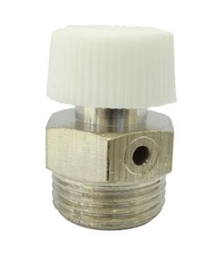 """V&G 5050 Manuální odvzdušňovací ventil 1/8"""" Plastové ovládání 505018"""