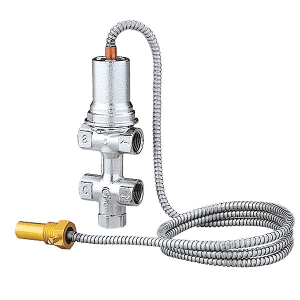"""CALEFFI 544 1/2"""" Termostatický pojistný ventil ke kotlům s automatickým dopouštěním 54412"""