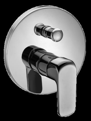PORTO 4252 Podomítková vodovodní baterie s přepínáním na sprchu, CHROM PO4252