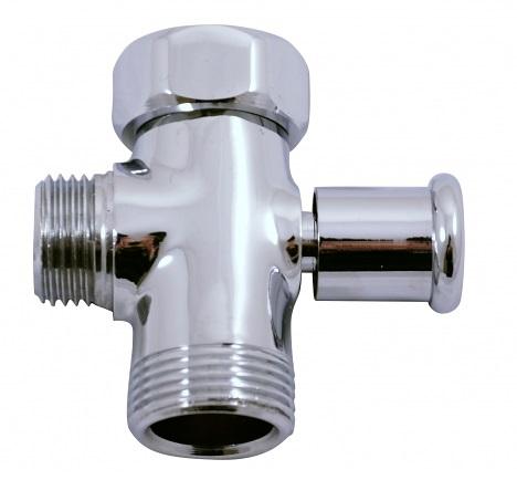 """Mechanický přepínač sprchy CLASSIC s aretací 3/4"""" x 1/2"""", CHROM 89231"""