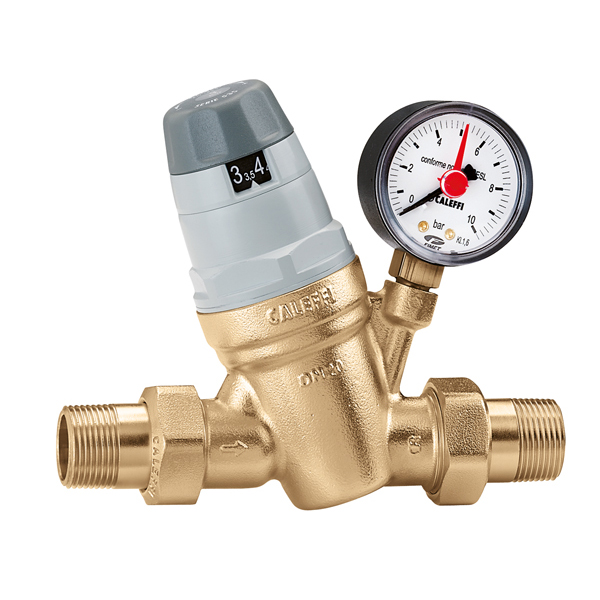 "CALEFFI 5350 Regulátor tlaku vody DN32 - 5/4"" Rozsah 1 - 6 BAR, PN25 535054"