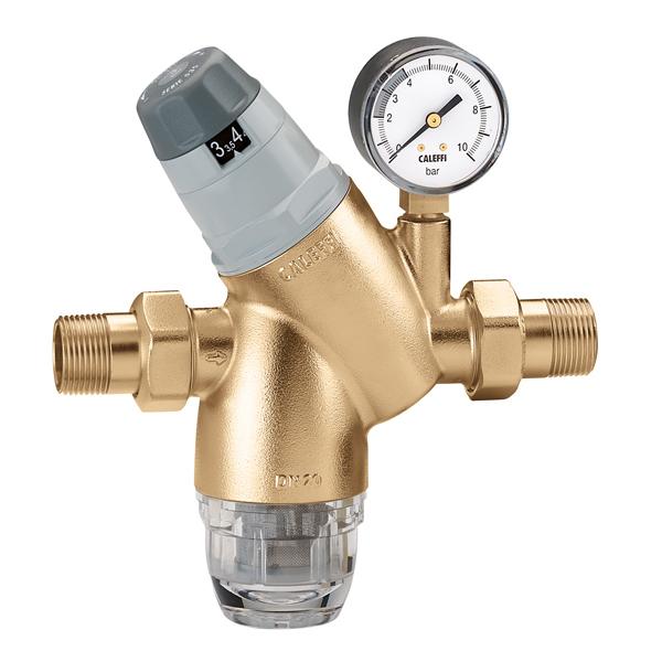"CALEFFI 5351 - Regulátor tlaku vody s filtrem 3/4"" PN25, 1 - 6 BAR 40°C 535134"