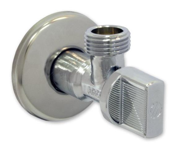 """V&G Valogin Rohový kulový ventil 1/2"""" x 1/2"""" - Chrom (14701212) 14701212"""