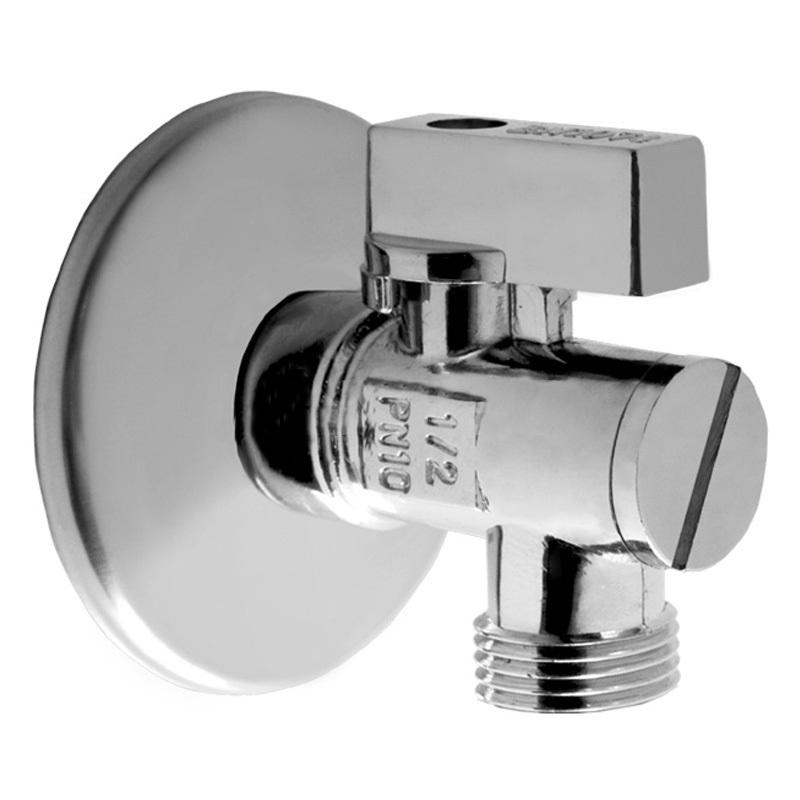 "V&G Valogin Rohový kulový ventil s filtrem 1/2"" x 3/8"" - Chrom (14713812) 14713812"