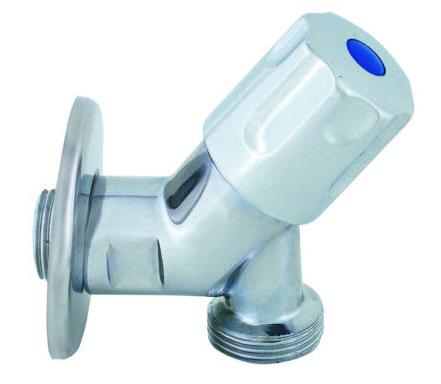 """V&G Rohový ventil vřetýnkový 1/2"""" x 3/4"""" - Chrom (5500) 655500"""
