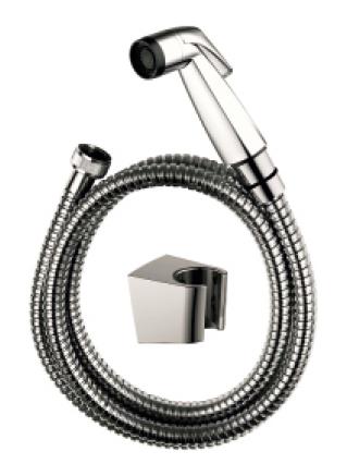 SET - Bidetová sprška, tlaková hadice 150cm, závěs sprchy, chrom 83303SET
