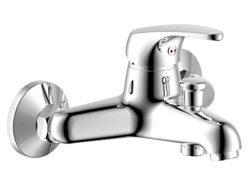 STENO 3044 Vanová vodovodní baterie s příslušenstvím, CHROM, rozteč 150mm ST3044