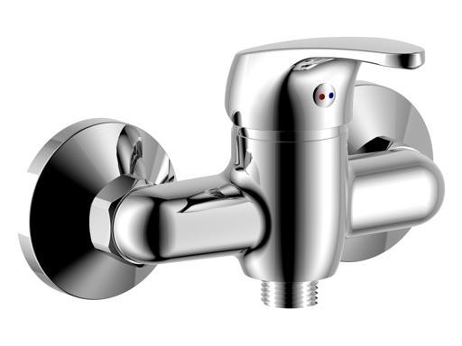 STENO CZ 3046/10 Nástěnná vodovodní baterie bez ramínka, CHROM, rozteč 100mm ST304610