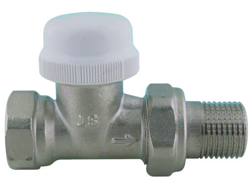 """V&G 417D Termostatický ventil radiátorový přímý DN15 - 1/2"""" PN10, Tmax 110°C 417112"""