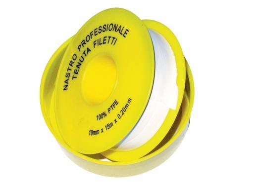 Teflonová páska PLYN - 15m x 19mm x 0,2mm 55901