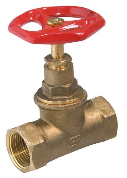 """Mosazný uzavírací ventil přímý DN32 - 5/4"""" PN16, K-83T 150054"""