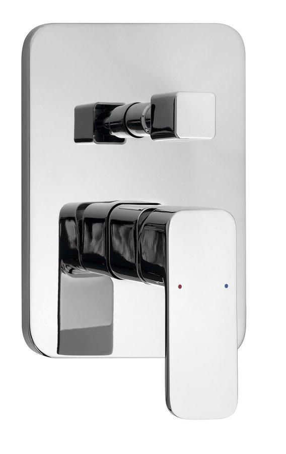 FACTOR podomítková sprchová baterie, 2 výstupy, chrom, FC642 FC642
