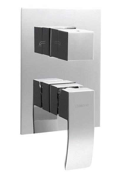 GINKO podomítková sprchová baterie, 3 výstupy, chrom, 1101-44 1101-44