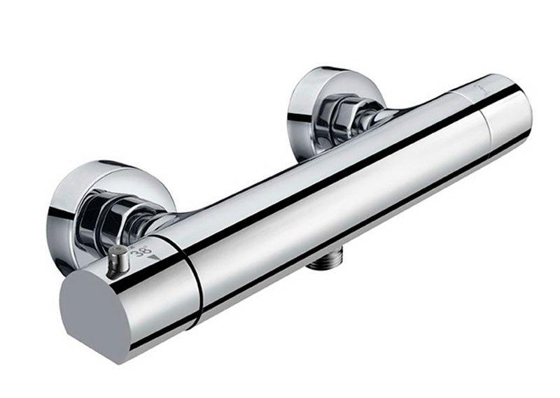 KIMURA nástěnná sprchová termostatická baterie, rozteč 150mm, chrom, KU245 KU245