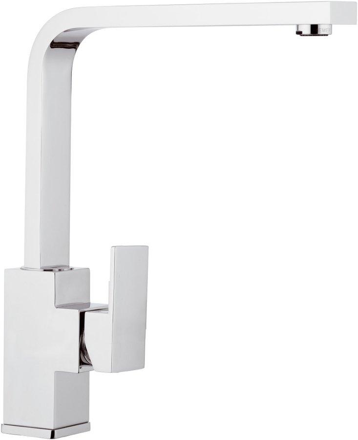 LATUS stojánková dřezová baterie s plochou hubicí, chrom, 1102-15 1102-15