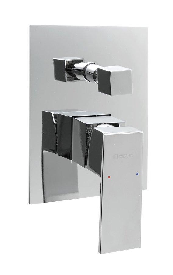 LATUS podomítková sprchová baterie, 2 výstupy, chrom 1102-42