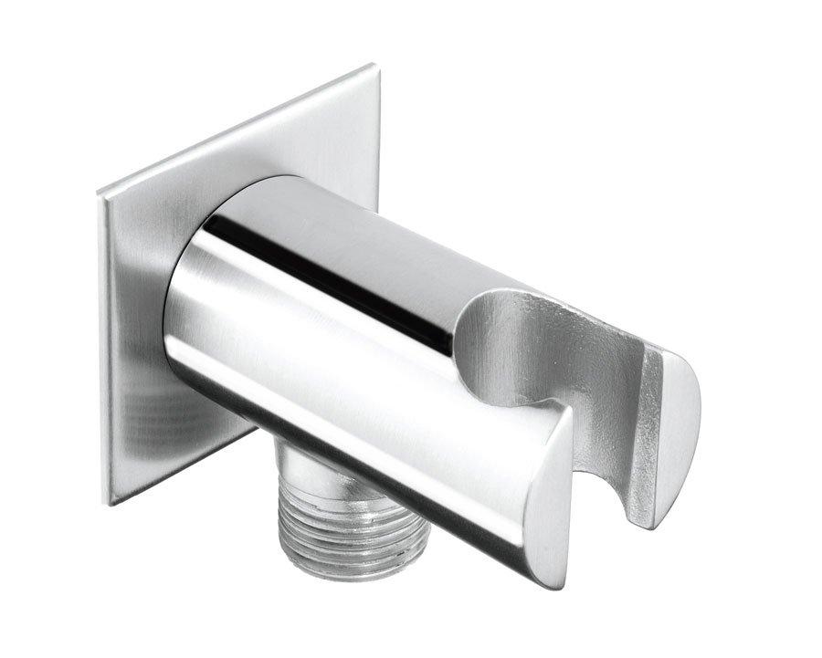 MINIMAL držák sprchy s vyústěním, nerez, MI035 MI035