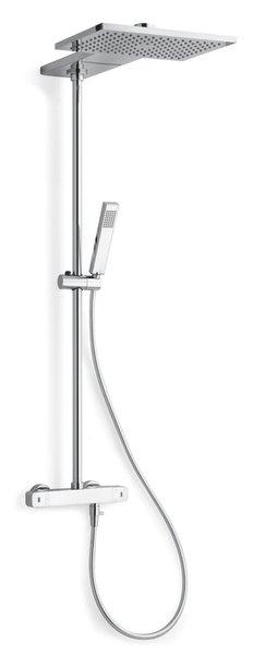 TRIO AQUARAMA sprchový sloup s termostatickou baterií, kaskáda, chrom AM645151