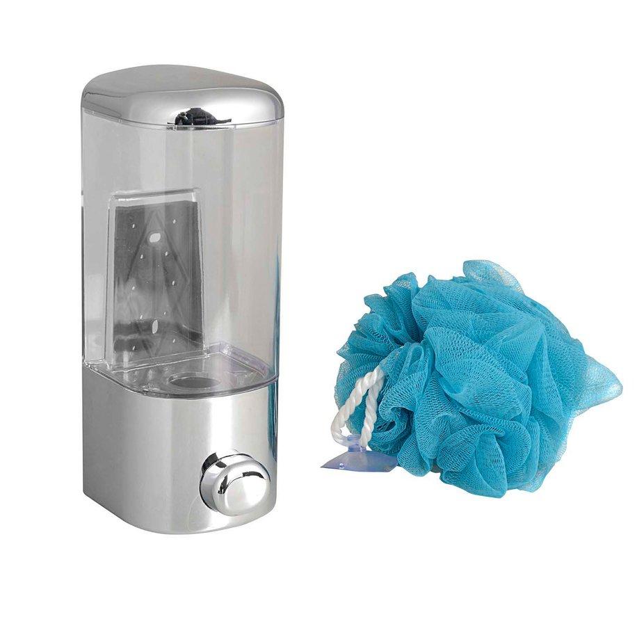 Dávkovač tekutého mýdla 600ml, chrom ASR1-1P