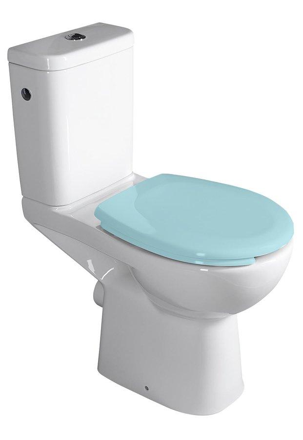 ETIUDA WC kombi pro postižené CLEAN ON, zadní odpad K11-0221
