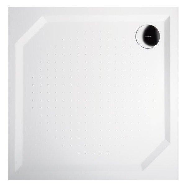 ANETA80 sprchová vanička z litého mramoru, čtverec 80x80x4cm GA008