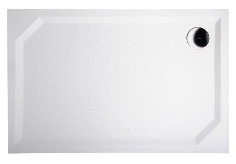 SARA sprchová vanička z litého mramoru, obdélník 100x80x4cm GS10080