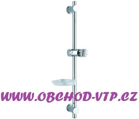 Posuvná sprchová tyč NOVA s mýdlenkou, CHROM 88305