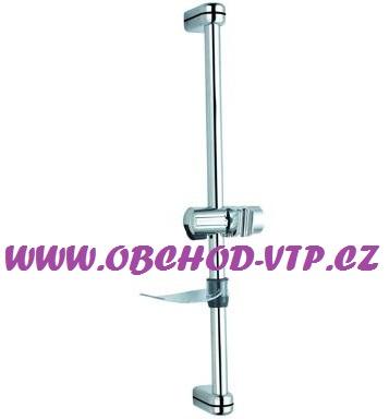 Posuvná sprchová tyč ASTRA s mýdlenkou, CHROM 88307