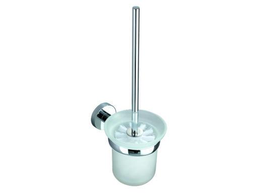 BELAGGIO SEVILA 8129 Skleněný držák na WC štětku - Koupelnové doplňky BELAGGIO 808129
