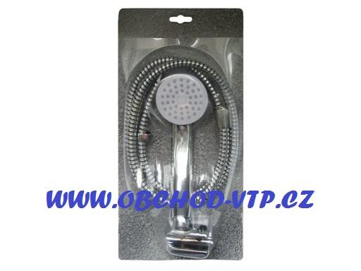 SPRCHOVÝ SET BASIC, hadice, sprcha a závěs sprchy 89100