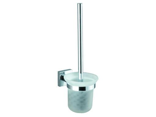 TORINO 8919 Skleněný držák na WC štětku - Koupelnové doplňky BELAGGIO 808919