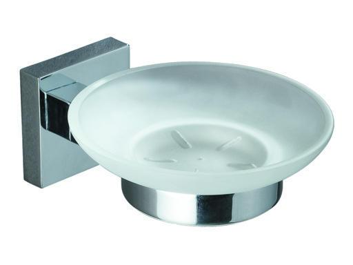 BELAGGIO TORINO 8922 Držák se skleněnou mýdlenkou - Koupelnové doplňky BELAGGIO 808922