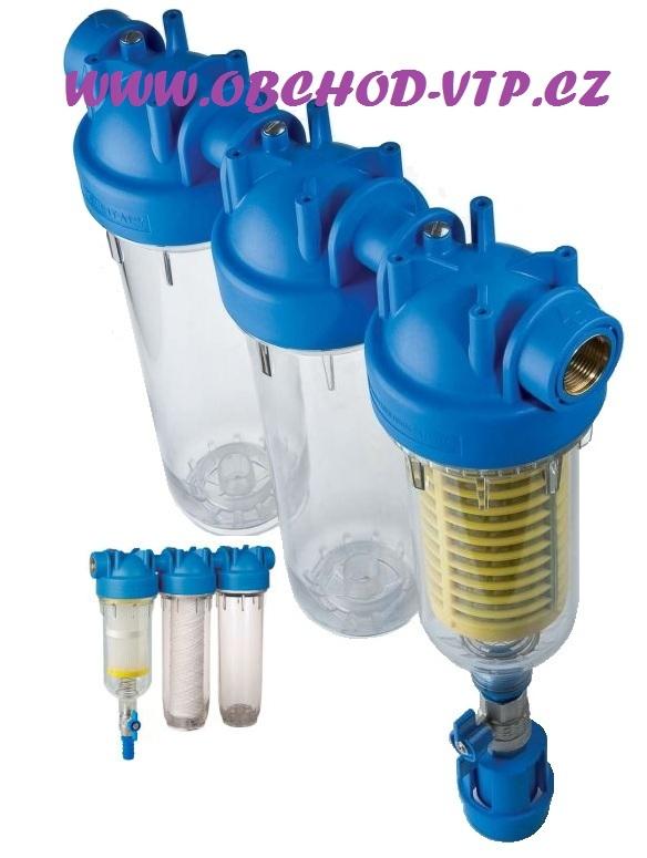 """ATLAS FILTRI Vodní filtr samočistící HYDRA TRIO 1"""" RSH 50mcr + FA 25mcr + Prázdná nádoba 6095192"""