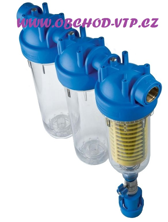 "ATLAS FILTRI Vodní filtr samočistící HYDRA TRIO 1"" RSH 50mcr + 2x prázdná nádoba 8BAR 6095193"