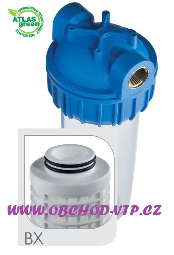 "ATLAS FILTRI Vodní filtr ATLAS Senior 10"" 3P 3/4"" BX - 8BAR, 45°C 1110421"