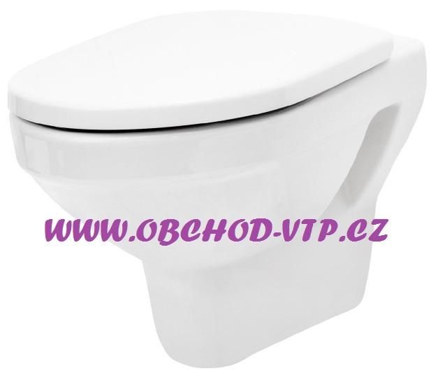 CERSANIT Závěsná WC Mísa OLIMPIA - K10-008 , bez sedátka K10-008