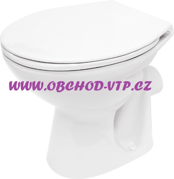 CERSANIT WC Mísa PRESIDENT - Zadní rovná - K08-014 K08-014