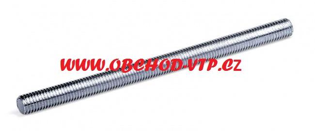 KOŇAŘÍK Závitová tyč M12 x 1000mm - Pozinkovaná ocel ZT12
