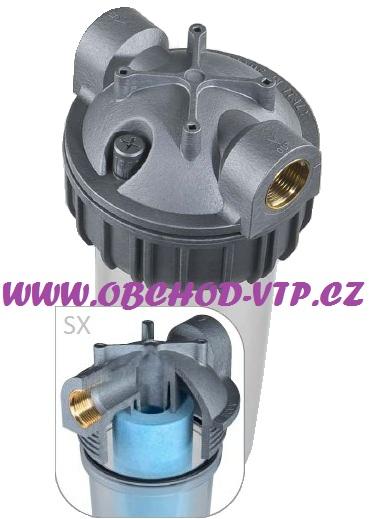 "ATLAS FILTRI Vodní filtr SANIC Senior 3/4"" 10SX 3P - 7BAR, 45°C 1110411"