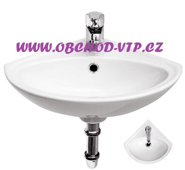 CERSANIT Umyvátko SIGMA 36cm rohové s otvorem - K11-0013 K11-0013