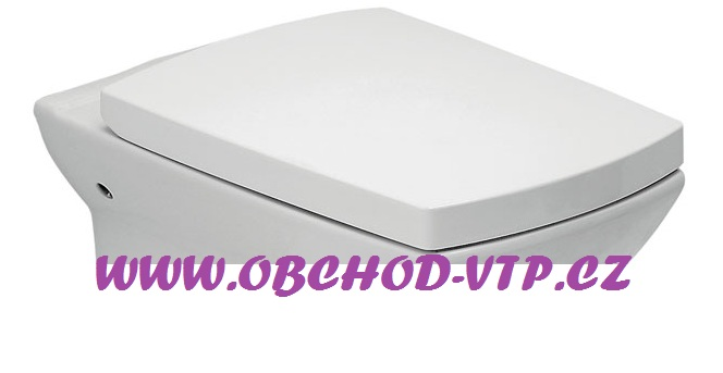 CERSANIT WC Sedátko SYMFONIA - Antibakteriální s brzdou - K98-0037 k98-0037