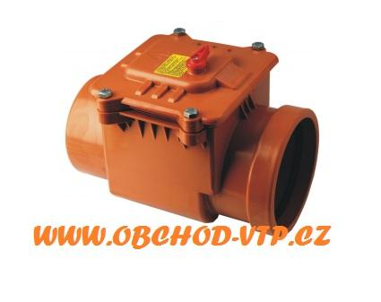 KGZK Kanalizační zpětná klapka DN160 s jedním uzávěrem - CAPRICORN 33ZK160