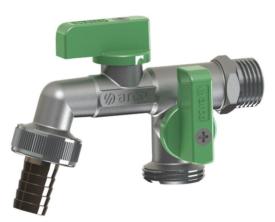 ARCO zahradní ventil Nano se dvěma vývody 1/2 NANO DOUBLE MAC