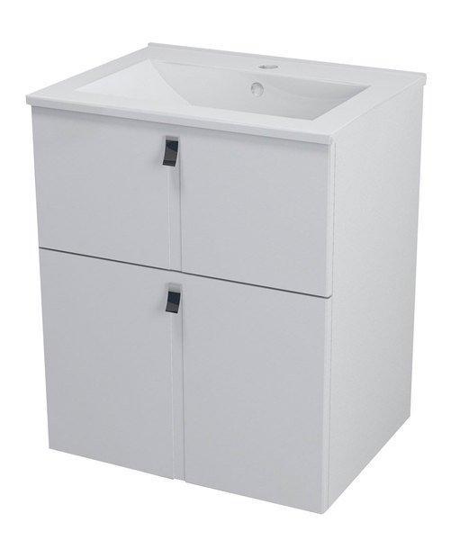 MITRA umyvadlová skříňka 59,5x70x45,2 cm, bílá MT061