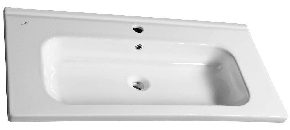 IDEAL keramické umyvadlo bez přepadu 100x45 cm ID100