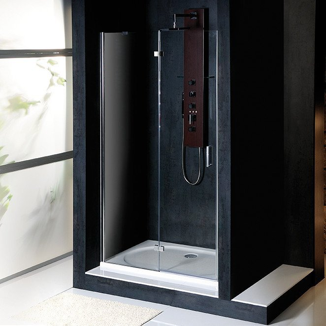 VITRA LINE sprchové dveře 900mm, levé, čiré sklo BN2815L
